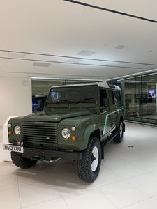 1990 Land Rover Defender V8 County Station Wagon rare