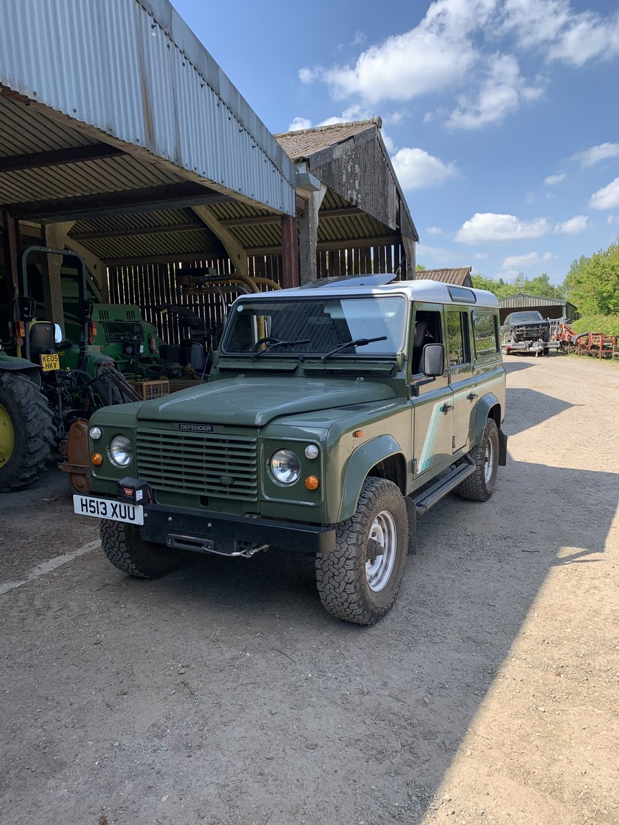 1990 Land Rover Defender V8 County Station Wagon rare For Sale (picture 3 of 4)