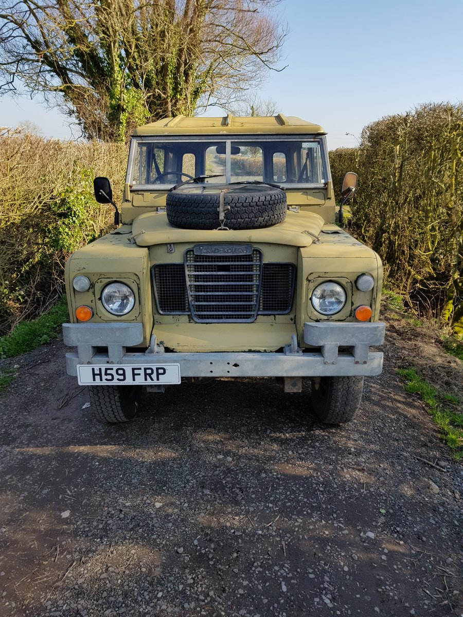 1984 Land Rover Series 3 - clean SOLD (picture 1 of 3)