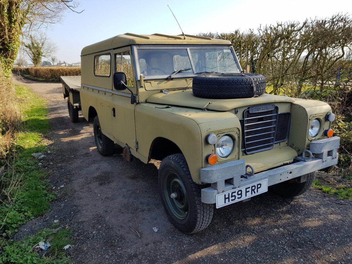 1984 Land Rover Series 3 - clean SOLD (picture 2 of 3)