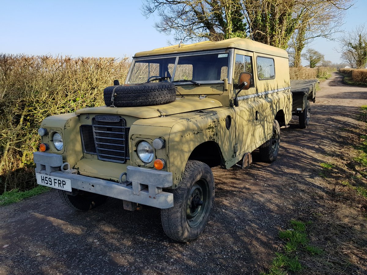 1984 Land Rover Series 3 - clean SOLD (picture 3 of 3)