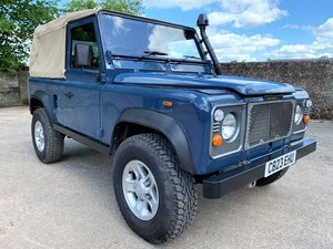 1986 rebuilt land rover 90 300TDi soft top+galvanised chassis+A1 SOLD