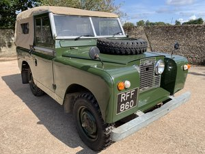 1961 Land Rover Series II 88in soft top 2.25 petrol 7 seater SOLD