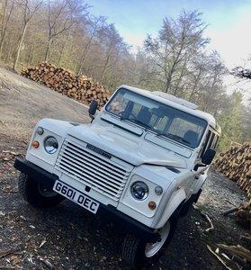 1989 Land Rover 110 Ex-NHS rare Factory V8.