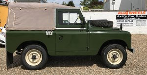 """1958 Land Rover 88"""" Series 2 SWB SOLD"""