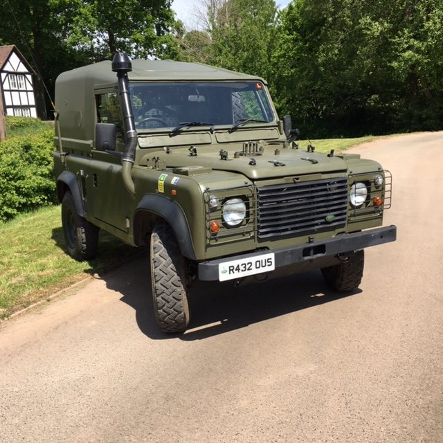 1998 Land Rover Defender Wolf SWB SOLD (picture 1 of 6)