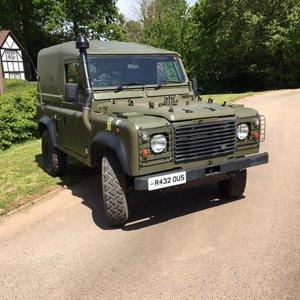 1998 Land Rover Defender Wolf SWB
