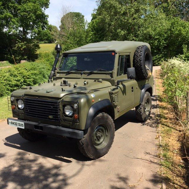 1998 Land Rover Defender Wolf SWB SOLD (picture 2 of 6)