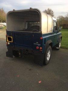 2003 Land Rover Defender 90 Truck Cab