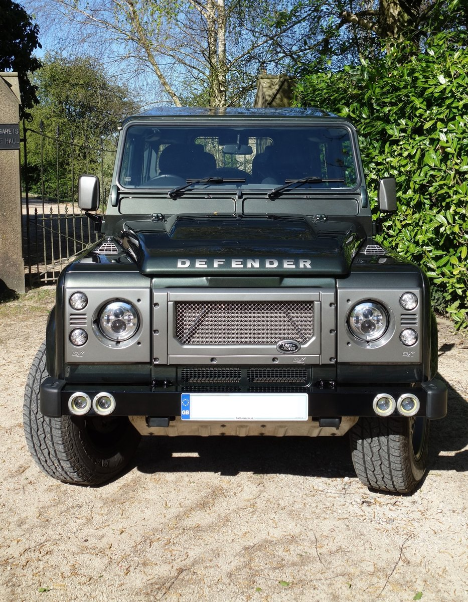 2008 Land Rover Defender 90 with performance upgrades For Sale (picture 1 of 6)