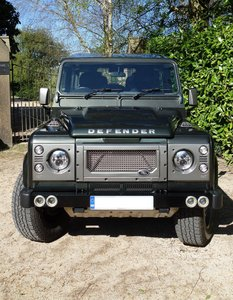 Land Rover Defender 90 with £14k of Upgrades