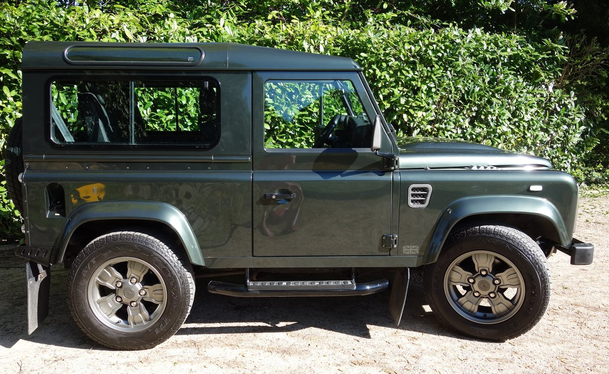 2008 Land Rover Defender 90 with performance upgrades For Sale (picture 3 of 6)