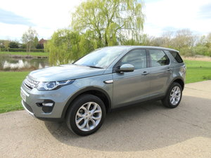 2016 Land Rover Discovery Sport 2.0 TD4 180 HSE 7 Seat Auto