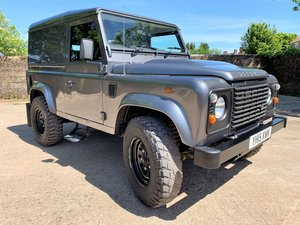 high spec 2015 Defender 90 2.2TDCi hardtop