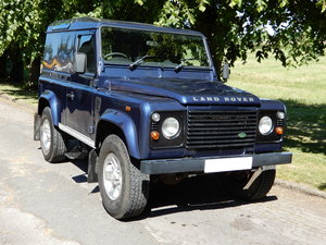 2007 Land Rover Defender 90 County Hard Top