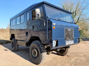 superb 1976 land rover 101FC gunbus/shooting bus conversion