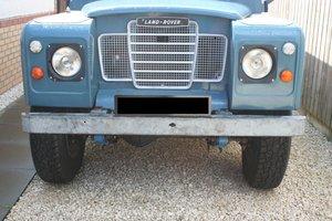 1975 Land Rover Series 3 109 Tax Free Mot Exempt