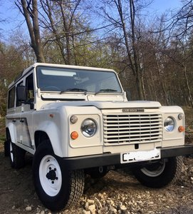 1990 Land Rover 110 V8 County station wagon. EX-NHS