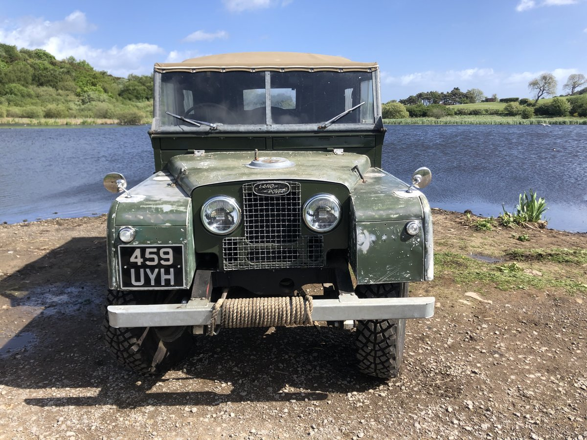 1955 Land Rover Series 1 soft top. Galvanised bulkhead. Original SOLD (picture 2 of 6)