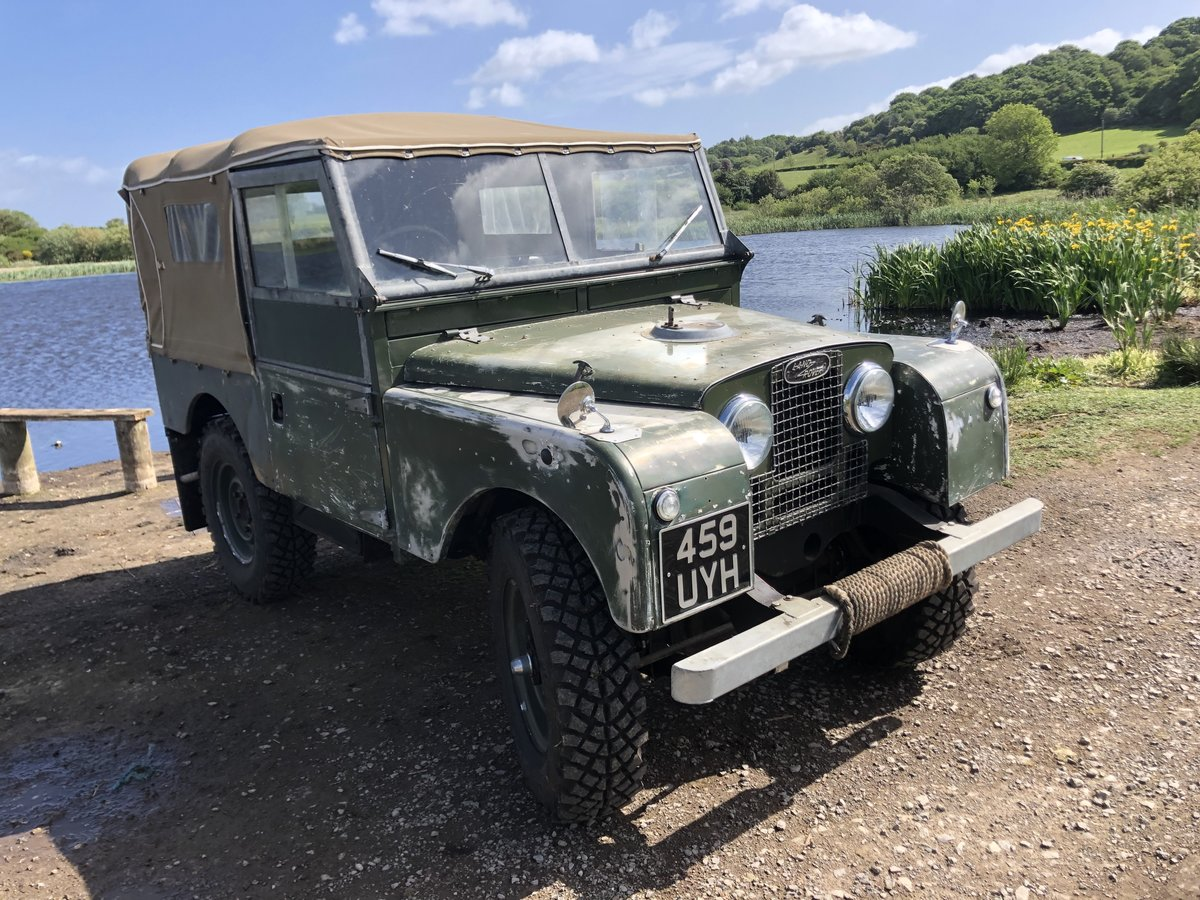 1955 Land Rover Series 1 soft top. Galvanised bulkhead. Original SOLD (picture 3 of 6)