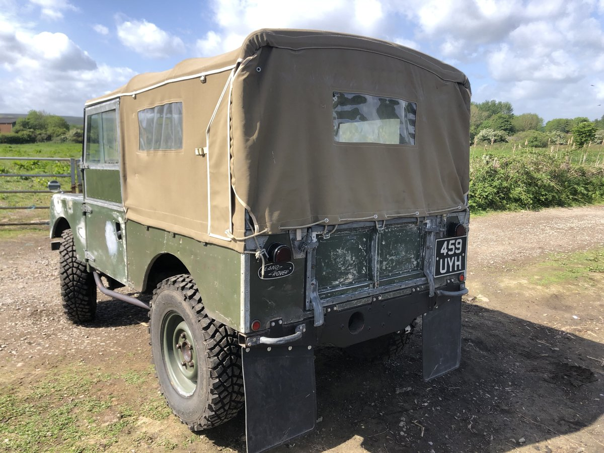 1955 Land Rover Series 1 soft top. Galvanised bulkhead. Original SOLD (picture 4 of 6)