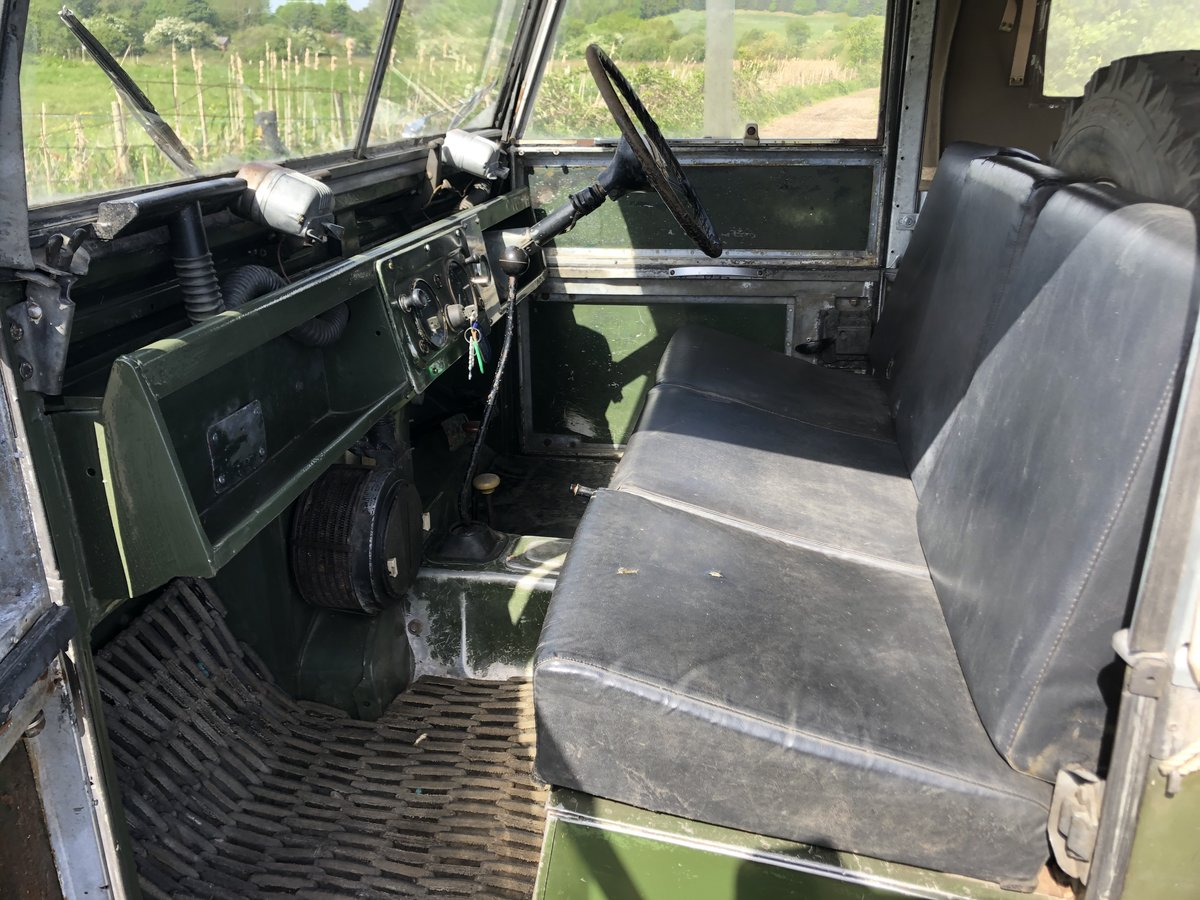 1955 Land Rover Series 1 soft top. Galvanised bulkhead. Original SOLD (picture 6 of 6)