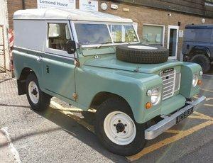 1972 Land Rover Series 3 Restored
