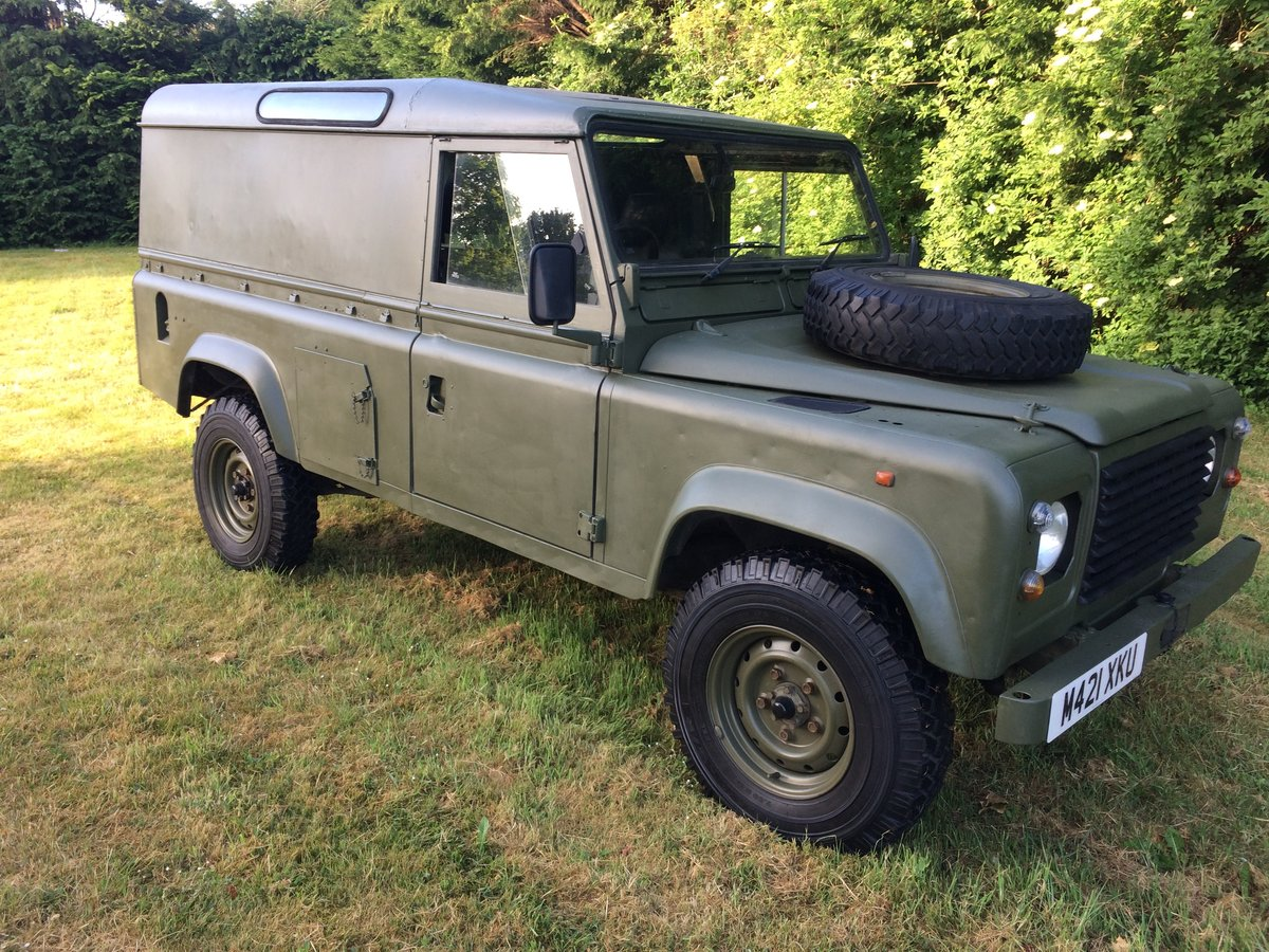 1995 Land Rover Defender 110 2.5 NA Ex MOD For Sale (picture 1 of 6)