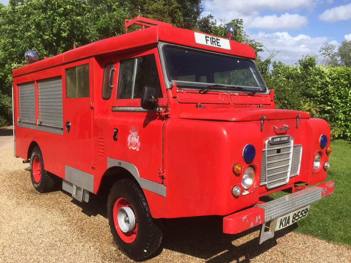 1977 Land Rover series 3 forward control Fire engine For Sale (picture 1 of 5)