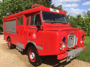 1977 Land Rover series 3 forward control Fire engine