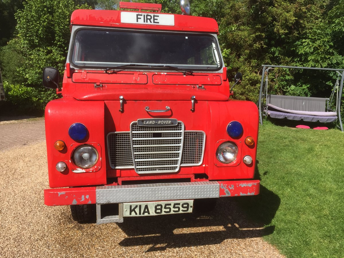 1977 Land Rover series 3 forward control Fire engine For Sale (picture 2 of 5)