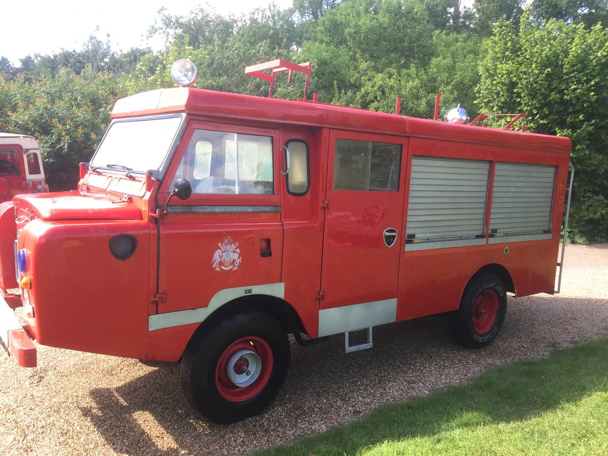 1977 Land Rover series 3 forward control Fire engine For Sale (picture 3 of 5)