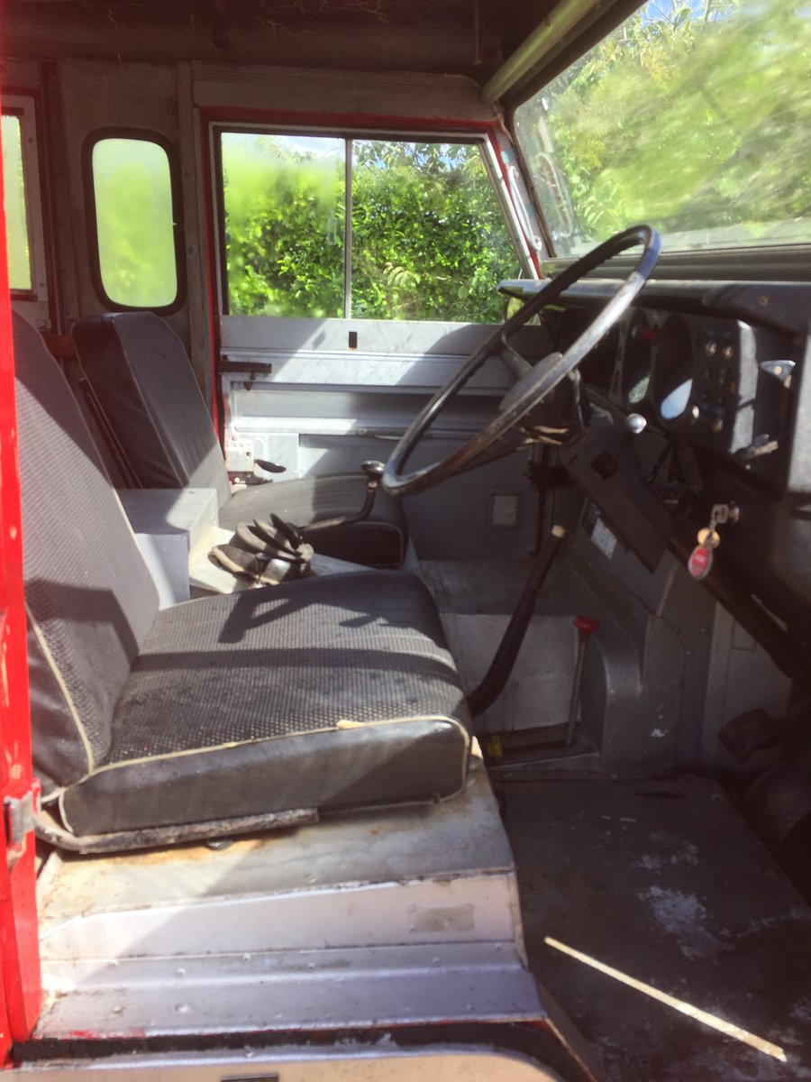 1977 Land Rover series 3 forward control Fire engine For Sale (picture 4 of 5)