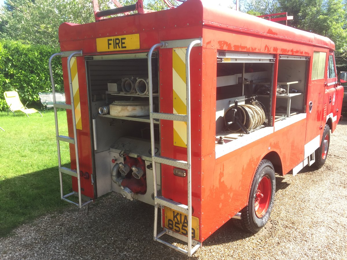 1977 Land Rover series 3 forward control Fire engine For Sale (picture 5 of 5)