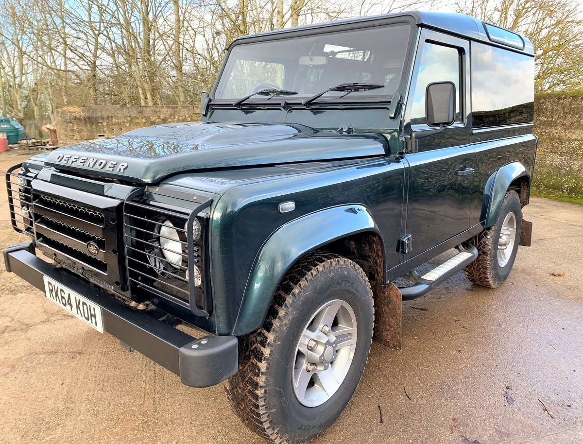 2014/64 DEFENDER 90 2.2TDCi XS HARDTOP WITH UPGRADES SOLD (picture 1 of 6)