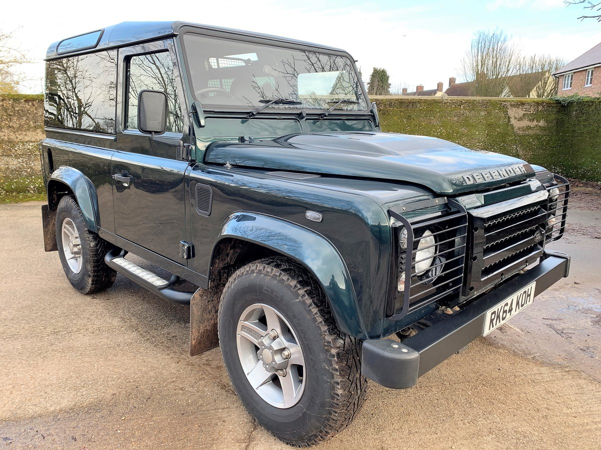 2014/64 DEFENDER 90 2.2TDCi XS HARDTOP WITH UPGRADES SOLD (picture 2 of 6)