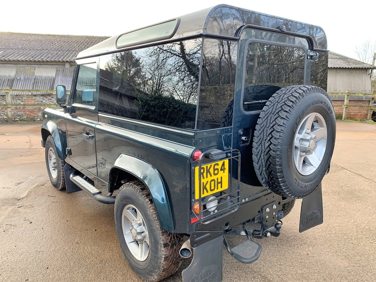 2014/64 DEFENDER 90 2.2TDCi XS HARDTOP WITH UPGRADES SOLD (picture 4 of 6)