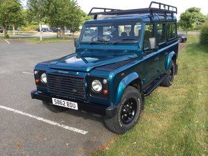 1998 Defender County Station Wagon 110 TD5 - 9 Seats