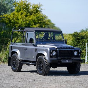 2009 Land Rover Defender 90 Soft Top WILLIAMS EDITION For Sale