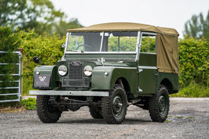 """1952 Land Rover Series 1 80"""" 1953 Model Year Restoration  SOLD"""
