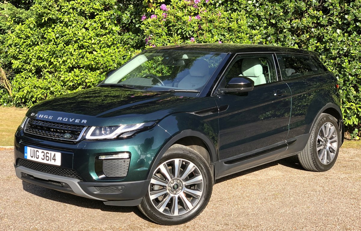 2016 RANGE ROVER EVOQUE TD4 SE COUPE AUTO 1 OWNER For Sale (picture 1 of 6)