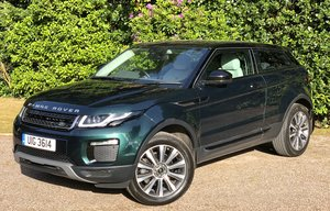 2016 RANGE ROVER EVOQUE TD4 SE COUPE AUTO 1 OWNER For Sale