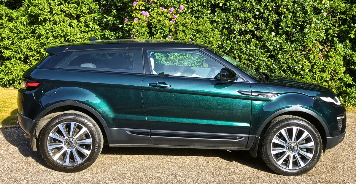 2016 RANGE ROVER EVOQUE TD4 SE COUPE AUTO 1 OWNER For Sale (picture 2 of 6)