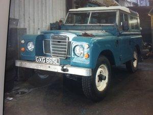 1972 Land Rover series 3 Diesel