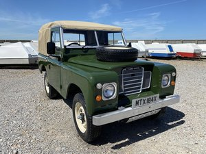 1982 Land Rover® Series 3 *Petrol Ragtop* (MTX) For Sale