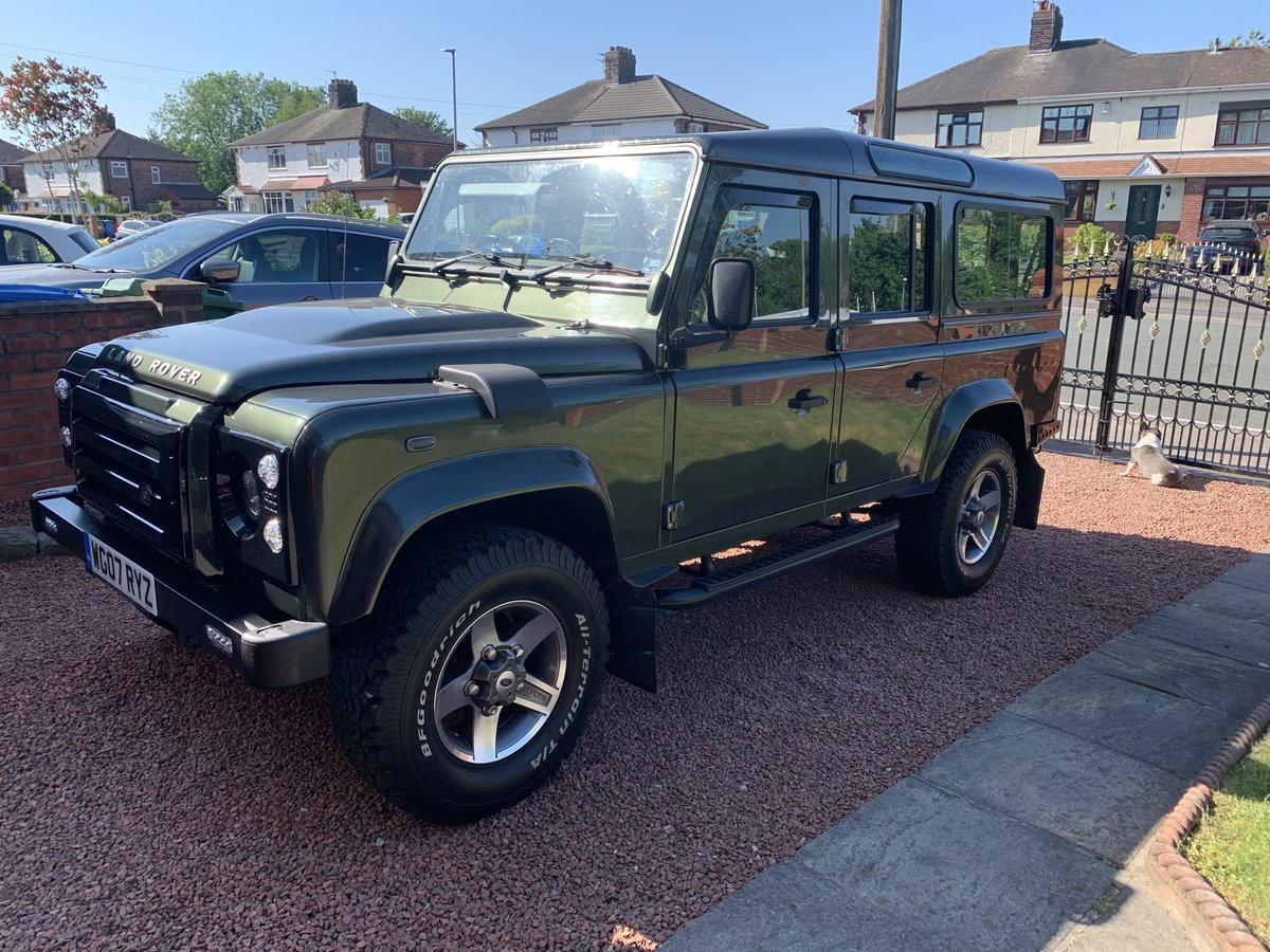 2007 Land Rover Defender Xs 110 2.4  For Sale (picture 1 of 6)