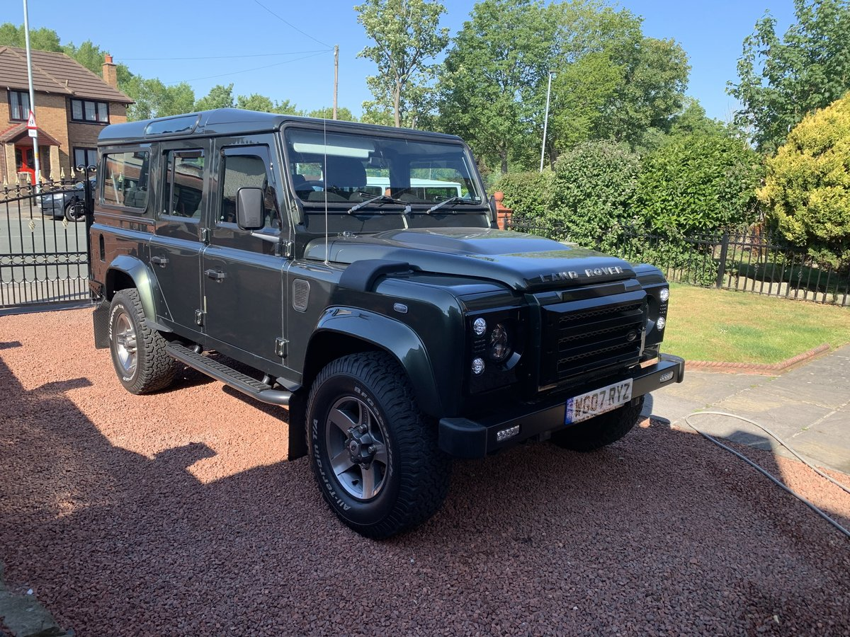 2007 Land Rover Defender Xs 110 2.4  For Sale (picture 2 of 6)