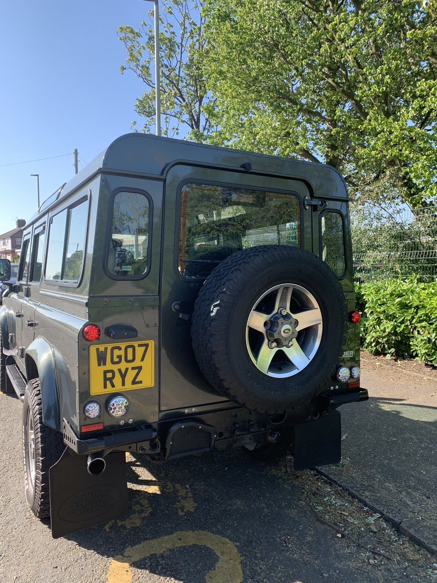 2007 Land Rover Defender Xs 110 2.4  For Sale (picture 3 of 6)