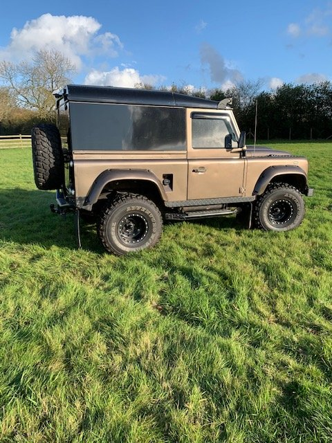 1988 Landrover Defender 90 with 200 tdi Engine For Sale (picture 1 of 6)