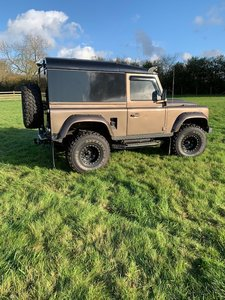 1988 Landrover Defender 90 with 200 tdi Engine